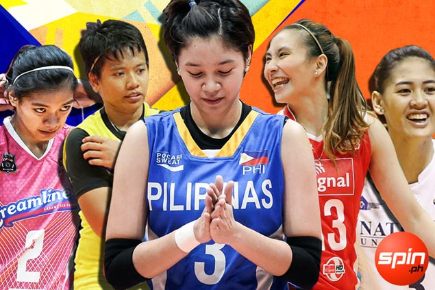 Alyssa Valdez, Mika Reyes head 18-woman national volleyball pool for SEA Games