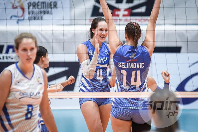 Pocari seeks to close in on PVL semis sans injured star Myla Pablo in clash with Creamline