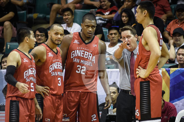 Tim Cone gets 'greedy' for once as Ginebra sets sights on Top Two finish