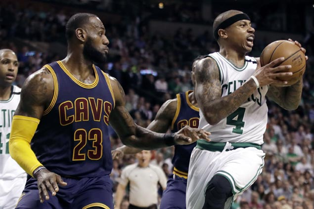 Ailing hip takes out Isaiah Thomas but Celtics coach not pinning embarrassing loss on injured star