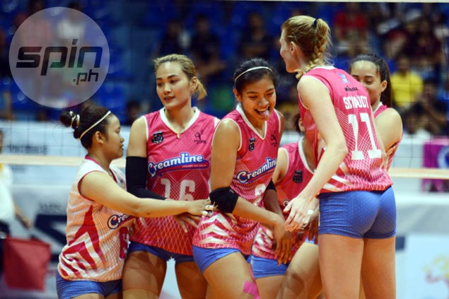 Alyssa Valdez glad for timely boost in firepower as imports lead Creamline to huge win vs Pocari