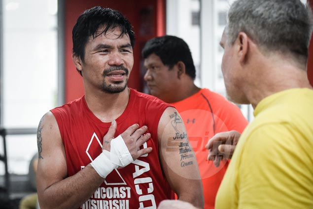 Manny Pacquiao proceeding with GenSan training camp despite Mindanao security concerns