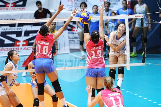 BaliPure outlasts Creamline in five sets to book first semis spot in PVL