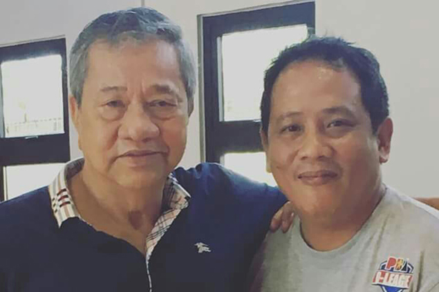 Gerard Alejo thankful to PBA great Jerry Codinera for giving him his coaching break