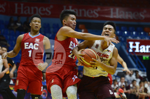 Diego Dario's late three-pointer leads red-hot UP Maroons past EAC Generals