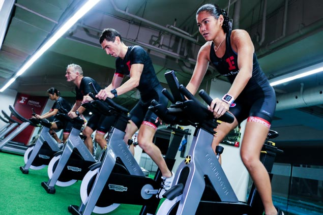 Fitness First launches indoor triathlon training ground in heart of metropolis