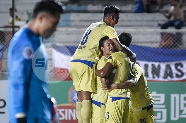 Sekou Sylla on the double as Global Cebu FC secures win over 10-man Kaya Makati