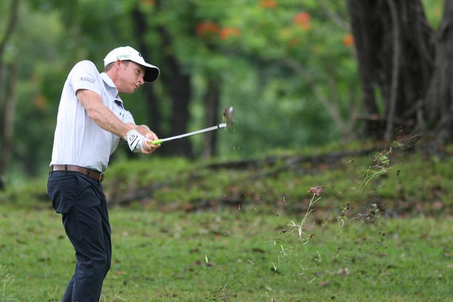 Aussie Nathan Park two strokes clear after two rounds in Philippine Masters at Villamor