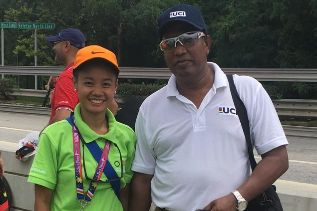 Philcycling's Sunshine Mendoza becomes first Filipina UCI road commissaire