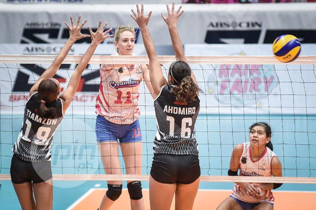 Creamline takes down Perlas to hand outright semis spot to Power Smashers in PVL