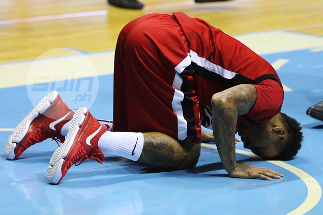 Calvin Abueva, JV Casio sit out Alaska match vs SMB; Vic Manuel listed as doubtful
