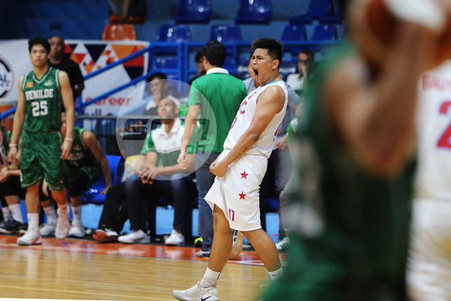 Jerome Garcia comes up clutch to lift depleted EAC Generals over struggling CSB Blazers