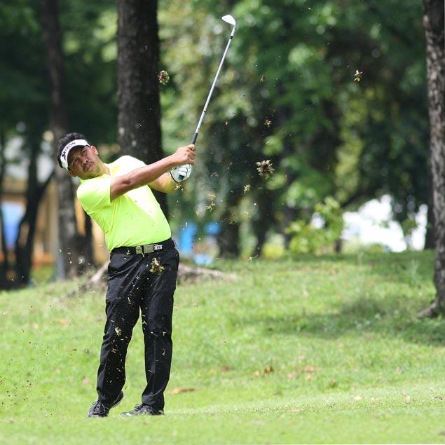 Pint-sized Joenard Rates shows up big guns after third-round 66 at PH Masters