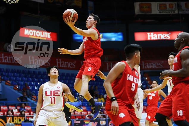 San Beda overcomes slow start with strong first half finish to turn back UE in Premier Cup