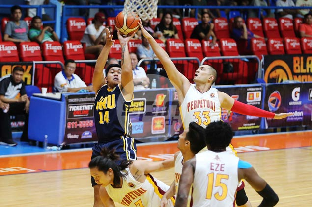 Defense the name of game as JRU Bombers vent ire on hapless Perpetual Altas