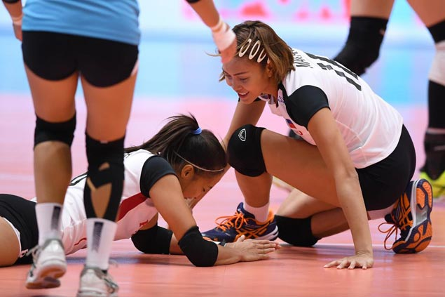 Tianjin Bohai Bank of China too strong for winless Rebisco-PSL Manila in Asian meet