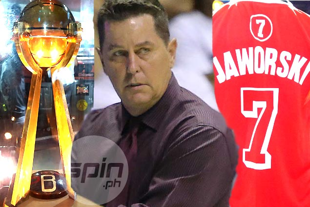 Ginebra dons retro jerseys to honor 1991 comeback team led by Jaworski, Distrito