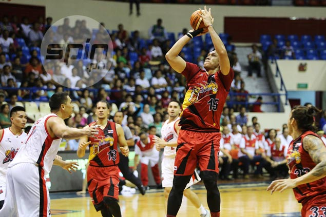 June Mar Fajardo welcomes extra rest to help recover from flu after easy win over Alaska