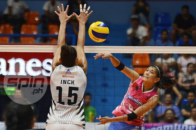 Alyssa Valdez comes up clutch as Creamline stuns Perlas in five-set thriller in PVL quarterfinals