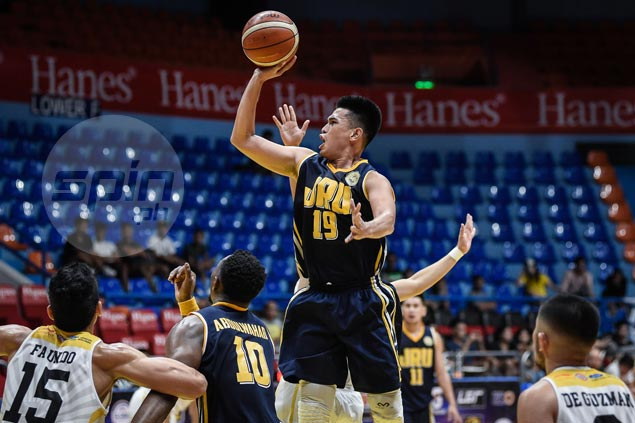 Darius Estrella, Ervin Grospe hit huge endgame baskets to lift JRU Bombers over UST Tigers