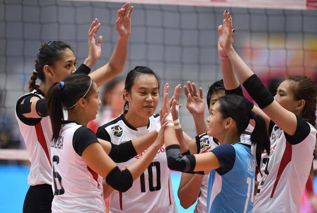 PSL Manila takes on unbeaten Thailand after a one-day break in Asian volley meet