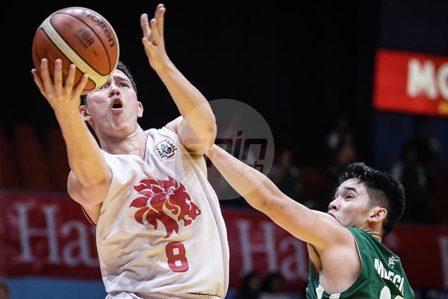 Robert Bolick scores 27 points against former team as San Beda edges La Salle