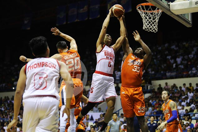 Ginebra outduels Meralco in frantic finish to zero in on twice-to-beat spot