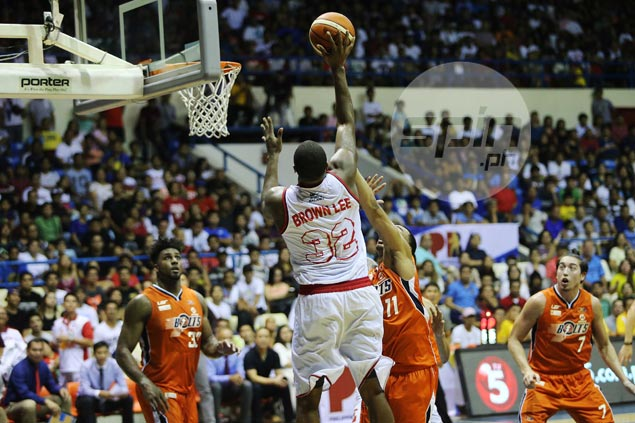Justin Brownlee heaves sigh of relief after missed charities nearly cost Ginebra: 'I'm not perfect'