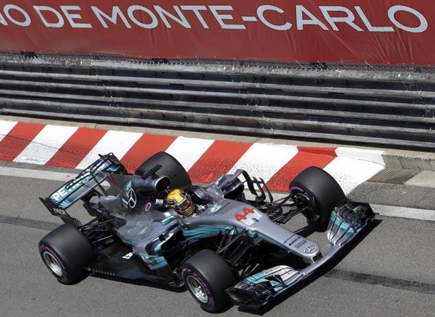 Lewis Hamilton limits damage with seventh place as Sebastian Vettel extends lead with Monaco GP win
