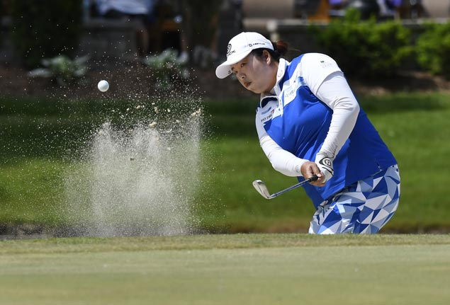 Shanshan Feng ends dry spell in US with one-stroke victory in Michigan