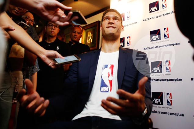 Brook Lopez says former teammate Blatche an 'amazing talent,' perfect for Gilas