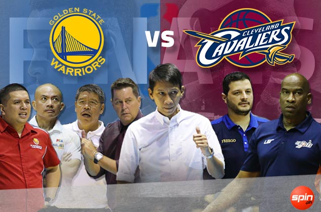 It's 4-2-1 (Warriors-Cavs-undecided) when we asked PBA coaches who'll win NBA Finals