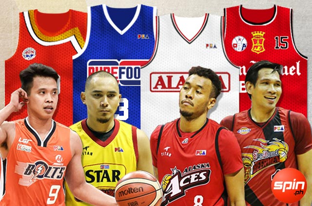 Here are memorable Purefoods, SMB, Alaska, Meralco jerseys worth bringing back