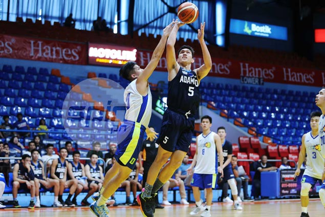 Adamson Falcons score wire-to-wire win over undermanned D-League side Flying V in tuneup