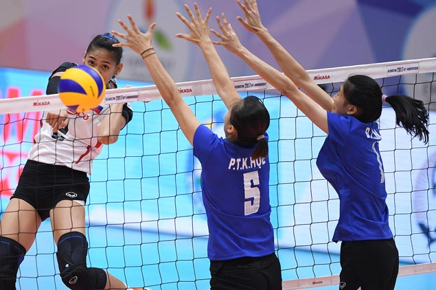 Rebisco PSL Manila falls short as Vietnam salvages seventh spot in Asian club volleyball