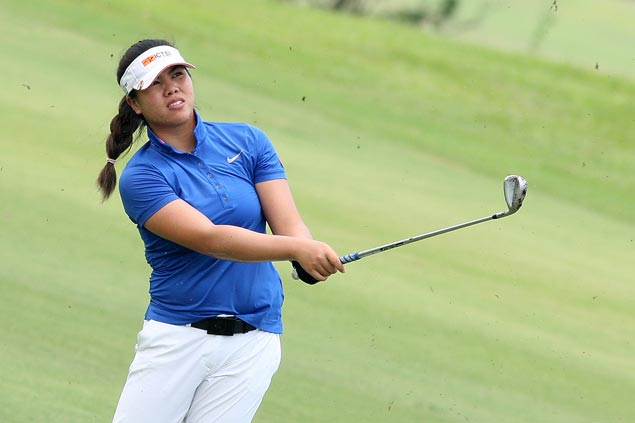 Pauline del Rosario leads suspended first round of Orchard Ladies Invitational