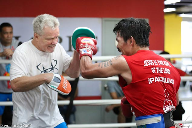 Roach unsure if Pacquiao camp will move to GenSan as planned amid Mindanao tension