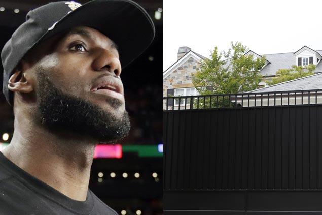 LeBron James sends strong message on racism after slur sprayed on gate of LA home