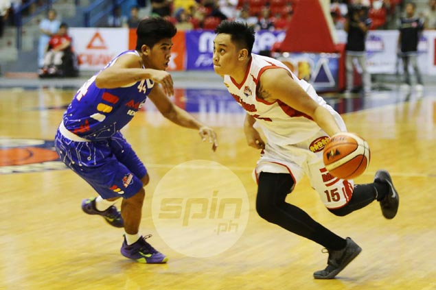 Macmac Tallo earns coach's praise after impressive D-League debut
