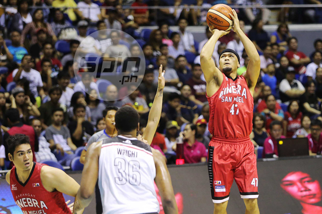 Ginebra clinches No. 1 seed in PBA playoffs after breezy victory over Mahindra