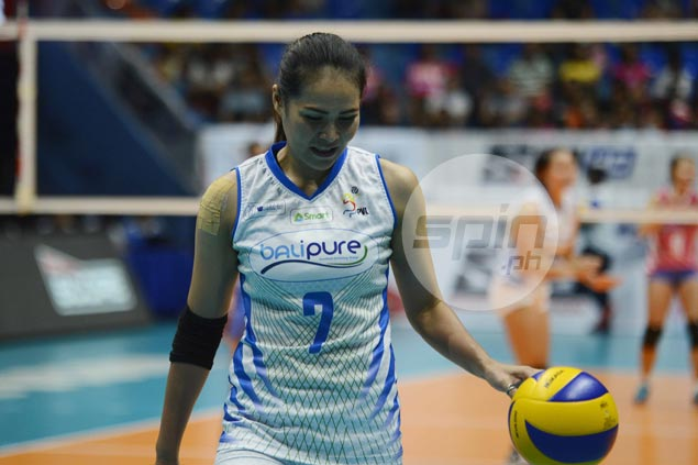 Eager to help Balipure gain finals, Thai import Jeng Bualee plays through shoulder injury