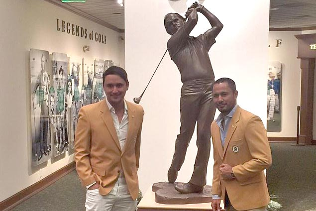 Derek Ramsay, John Estrada win Jack Nicklaus tournament, earn meet-up with golf legend