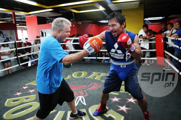 Freddie Roach hardly concerned about security as Pacquiao training camp shifts to GenSan