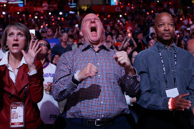 Steve Ballmer says Clippers no longer second fiddle in LA: 'We've been kicking the Lakers' a--'