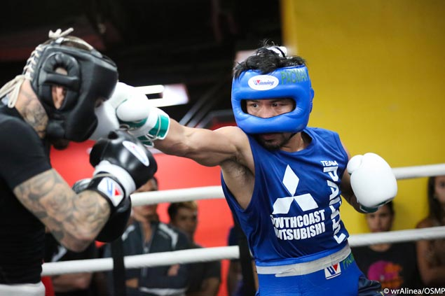 Pacquiao camp has all bases covered as training shifts to high gear in GenSan
