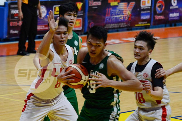 Baltazar, Melecio show La Salle depth by putting finishing touches to win over UE