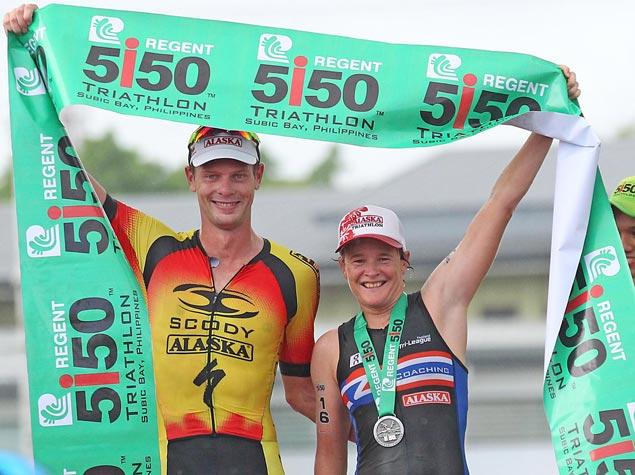 Sam Betten wins hat-trick of titles in rain-drenched Regent 5150 Triathlon in Subic