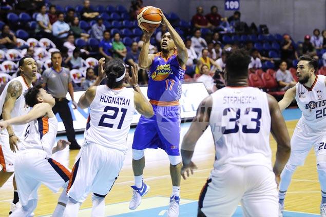 Jayson Castro ignites breakaway as TNT blasts Meralco to move a win from semis