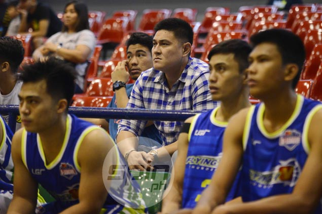 Jondan Salvador joins Flying V after long layoff, keeps hopes up on PBA return