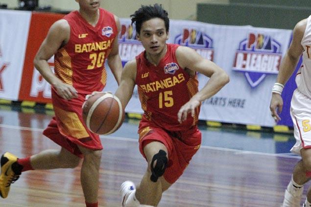 Batangas' 5-foot-5 hero Cedric de Joya dreaming big as he makes splash in D-League